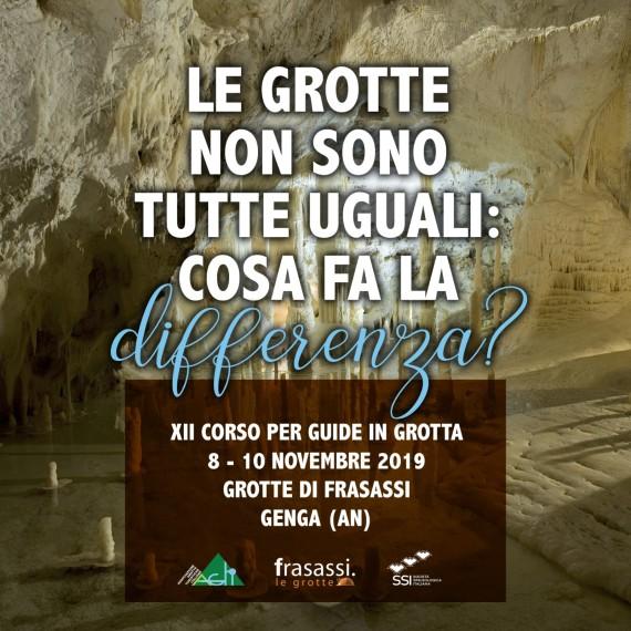 AGTI/SSI: alle Grotte di Frasassi la XII edizione del corso di formazione