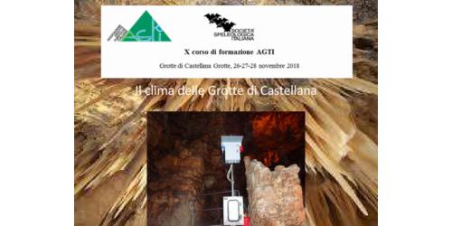 Il clima nelle Grotte di Castellana - Alessandro Reina