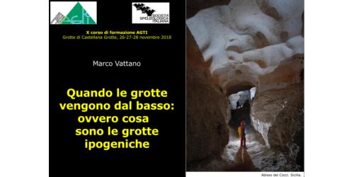 Le grotte ipogeniche - Marco Vattano