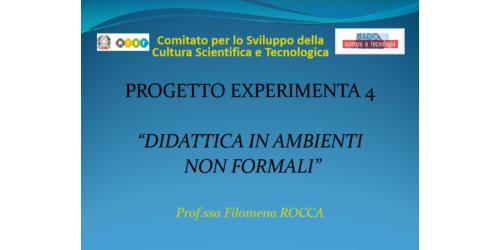 Didattica non formale in grotta - Filomena Rocca