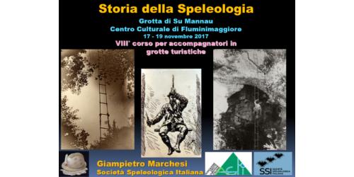 Storia della speleologia - Giampietro Marchesi